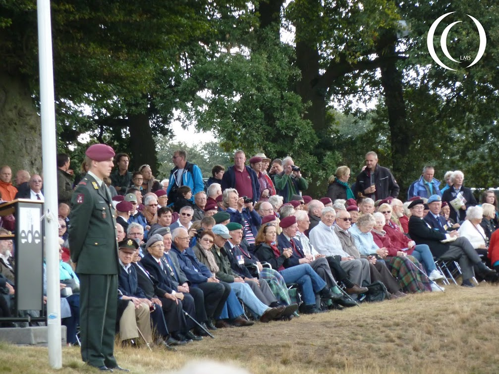The 68th Remembrance of Market Garden, Veterans attend the ceremony