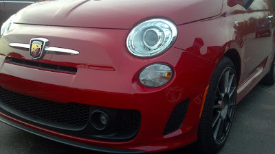 US 500 Abarth first photos