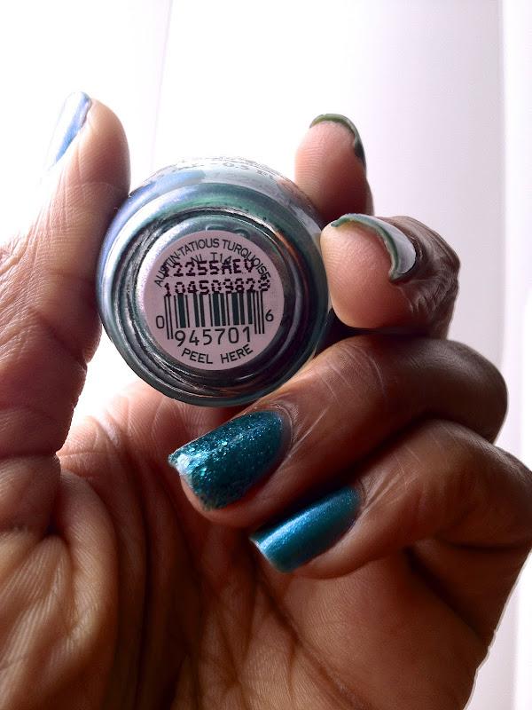 OPI: Austin-Tatious Turquoise