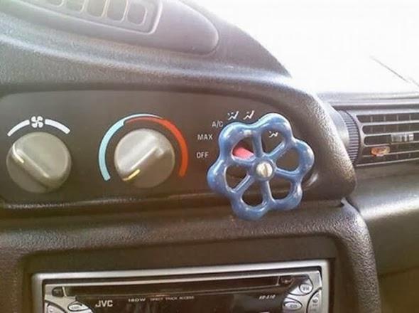 Grifo para el mando del climatizador