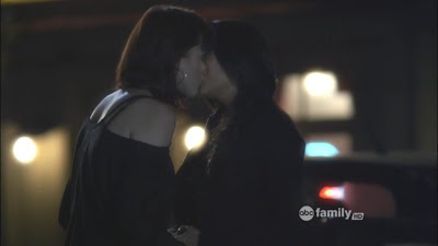Lindsey Shaw and Shay Mitchell Lesbian Kiss, Pretty Little Liars Watch Online lesbian media