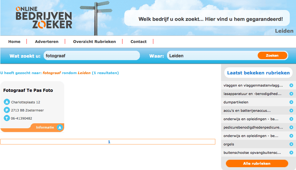 Onlinebedrijvenzoeker.nl