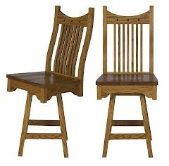 western swivel seat barstool
