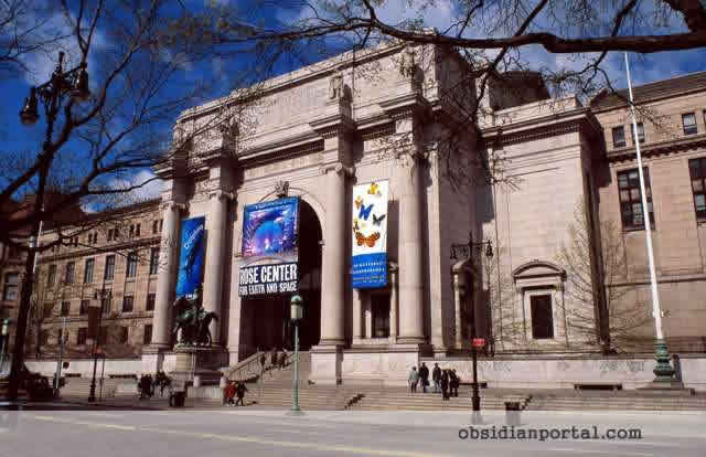 The American Museum of Natural History in Manhattan, New York