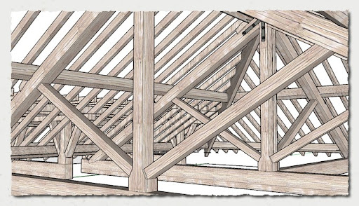 Modifying Rafters On A Kingpost Roof