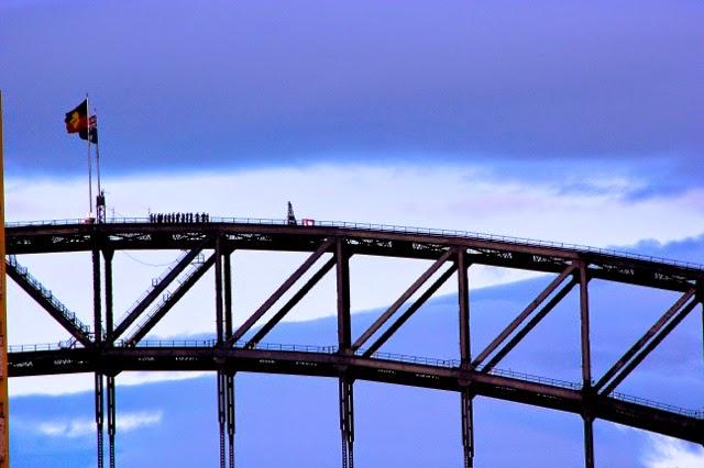Climbing the bridge, Sydney