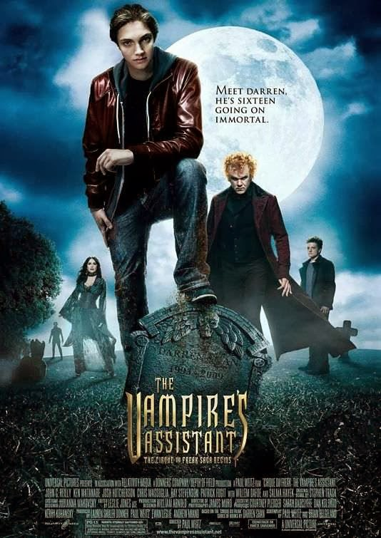 Poster Of The Vampire's Assistant (2009) Full Movie Hindi Dubbed Free Download Watch Online At Alldownloads4u.Com