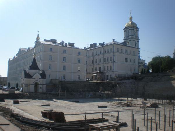 Фундаменти будівництва храму Преображення Господнього
