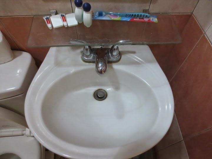 プリンセスマディソンホテル(アンヘレス)洗面とアメニティ