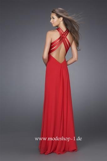 Kleidung mode abendmode abendkleider abendkleid - Rotes abendkleid lang ...