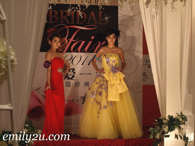 Wedding Fashion Show @ Bridal Fair 2011