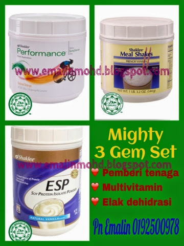 mighty 3 gem set shaklee