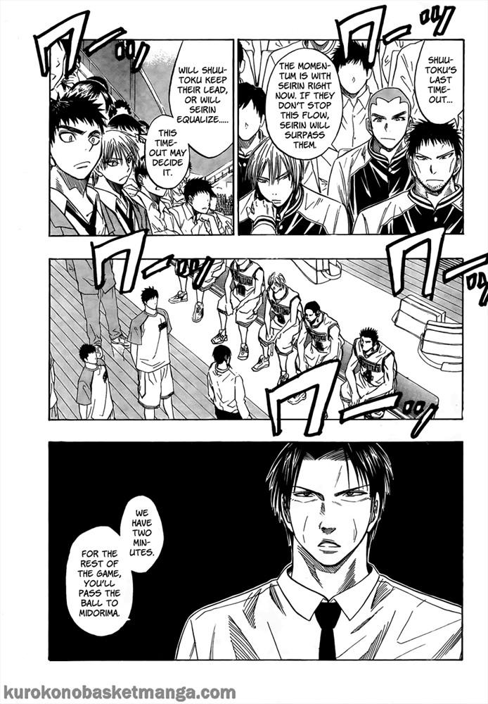 Kuroko no Basket Manga Chapter 34 - Image 03