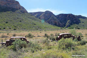 Baviaanskloof parking lot