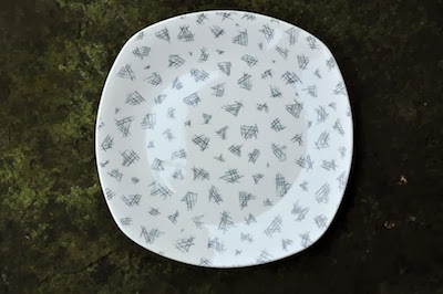 Monaco plate by Jessie Tait for Midwinter from Essentially Eagle.
