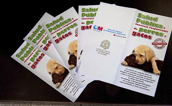 Campaña informativa sobre los cuidados sanitarios de las mascotas