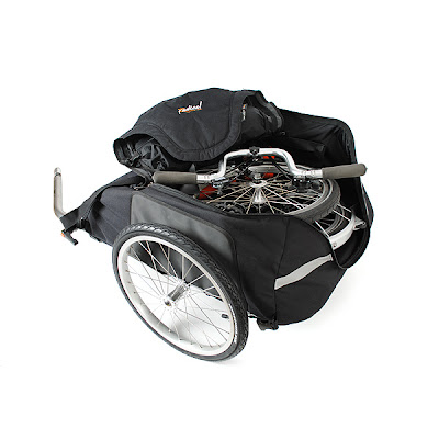 Recumbent bags and panniers for recumbent bicycles