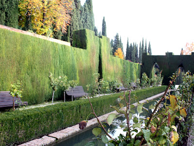 Gardens at the Generalife