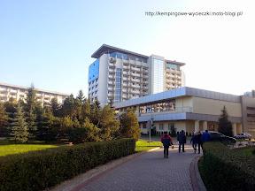 Na zdjęciu budynek Arka SPA Kołobrzeg z tyłu