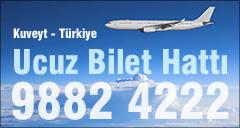 Ucuz Bilet Kuveyt Turkiye