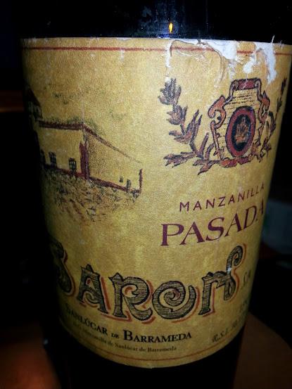 Manzanilla Pasada Baron, D.o Jerez /Sherry/Manzanilla de Sanlúcar