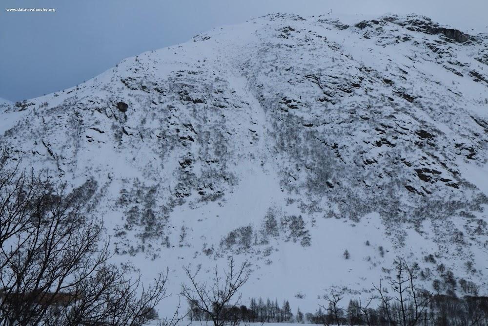 Avalanche Haute Maurienne, secteur Bonneval sur Arc, RD 902 - Planet - Vieux Pont - Photo 1