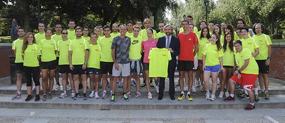 Cien jóvenes estarán con deportistas de élite para preparar 'Madrid corre por Madrid'