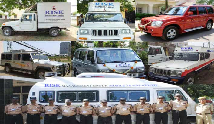Event / Courier / Transport Security, RMG Patrol Vans/Cars On Duty