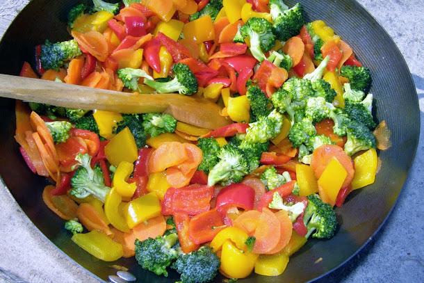Ciorba de peste - legume
