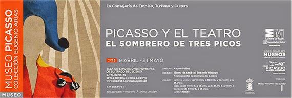 Exposición 'Picasso y el teatro' en Buitrago del Lozoya