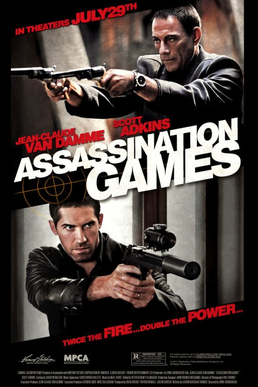 Poster Of Assassination Games (2011) Full Movie Hindi Dubbed Free Download Watch Online At Alldownloads4u.Com