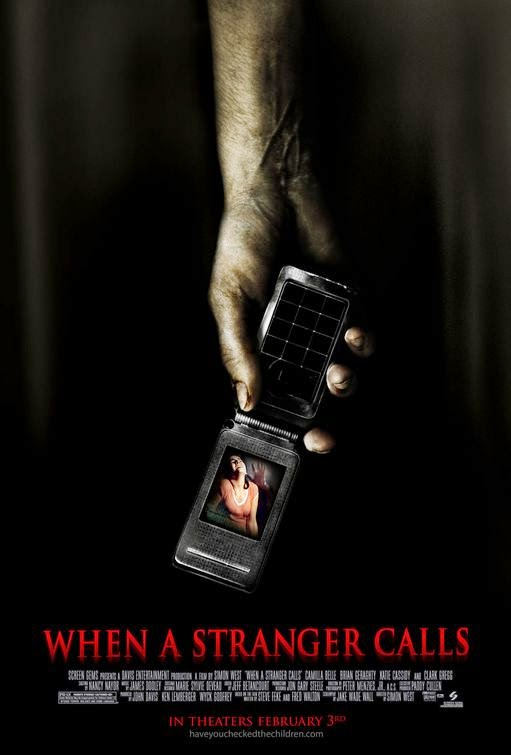 Poster Of When a Stranger Calls (2006) Full Movie Hindi Dubbed Free Download Watch Online At Alldownloads4u.Com