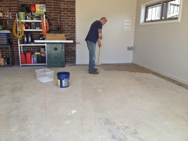 garage floor sealing