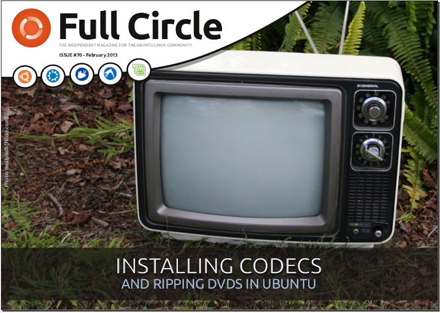 Full Circle Magazine Issue 70