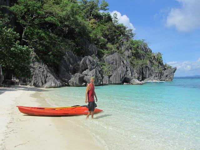 Coron island kayak