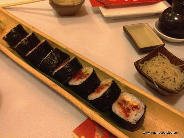 MADRID COOL BLOG hanakura restaurante japonés chamberí okonomiyaki sushi tasca japonesa olavide tortilla japonesa