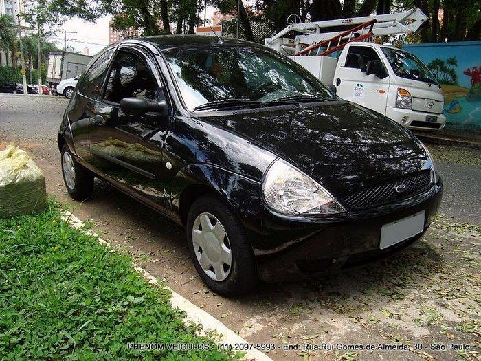 lateral, Ford KA 2004 Completo - Preço R$ 16.490