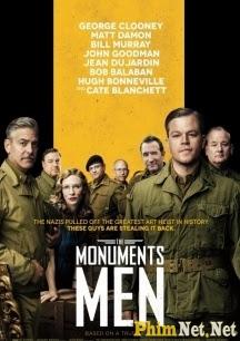 Phim Cổ Vật Bị Đánh Cắp - The Monuments Men 2014
