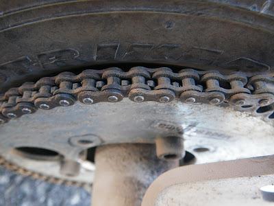 3 - La transmission par chaîne et pignons (avec démultiplication) Transmission_4