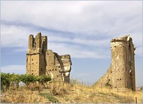 Sizilien - Corleone - Die Ruine der Kirche San Marco