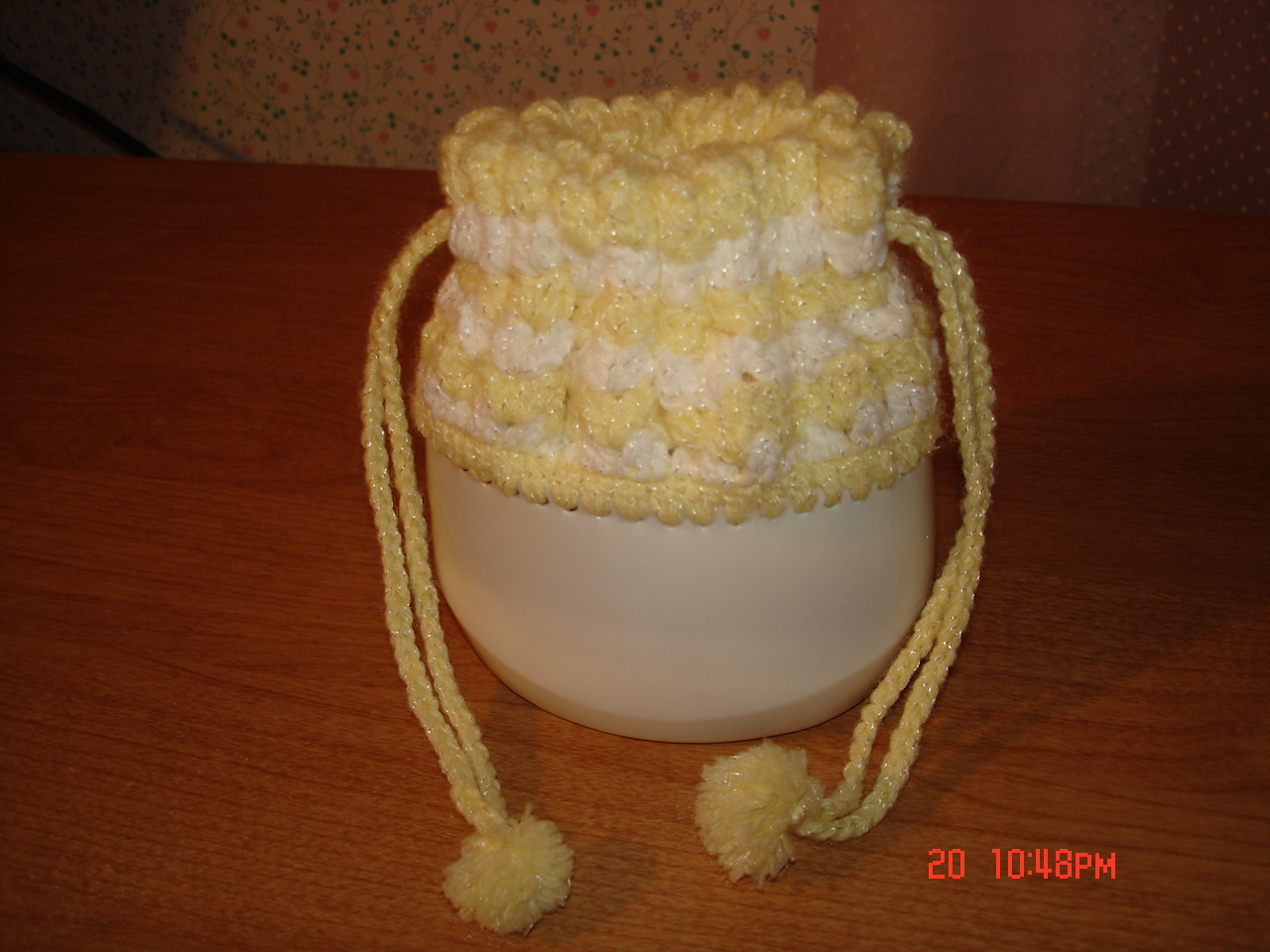 Crochet Baby Purse : One day they came home from their visit and they both had one of these ...