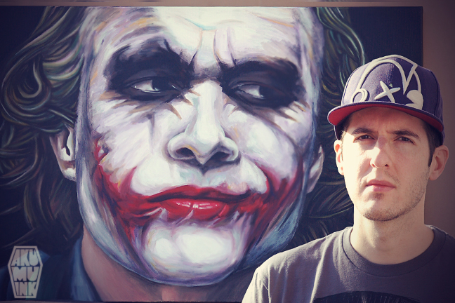 MFC Private Show http://forums.comicbookresources.com/showthread.php?393572-Joker-Oil-Painting