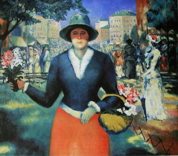 Kazimir Malevich - Flower Girl