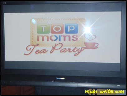 Off!, tea party, Top Moms, Nuffnang, weekends, events, mum events