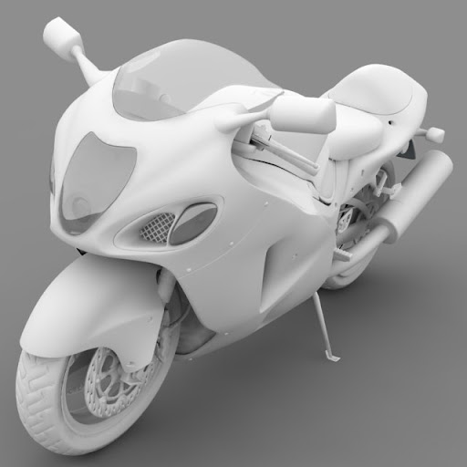 ชุดโมเดลยานพาหนะจาก Archmodels vol.55 SportBike