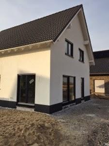 Sockelfarbe Haus müllers bau glück unser bautagebuch sockelanstrich