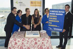 5 nuevas rutas de Ryanair desde el Aeropuerto de Barajas