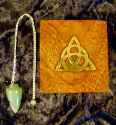 Green Earthen Pentagram And Pendulum Box Set 15 00