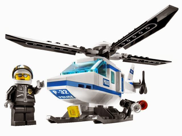 7741 レゴ 警察ヘリコプター