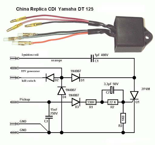 wiring diagram yamaha rxz 135 electrical wiring schematics and cdi wiring diagram yamaha scooter professor